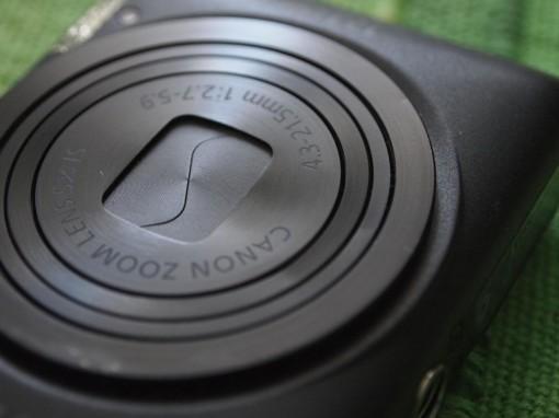 Canon IXUS 220HS - Copriobiettivo Bloccato