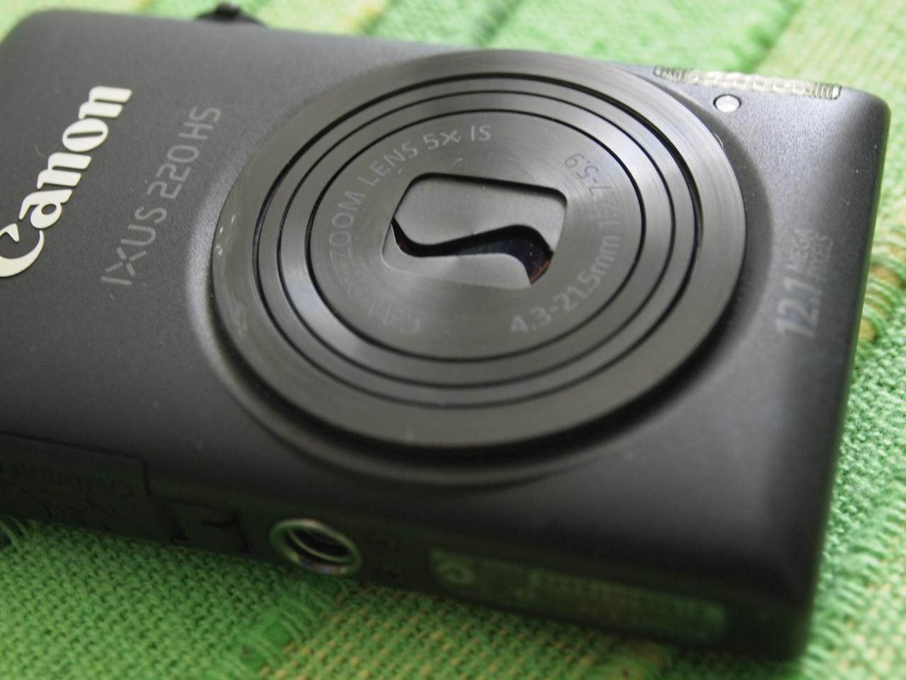 Canon IXUS 220 HS - Copriobiettivo bloccato - 2