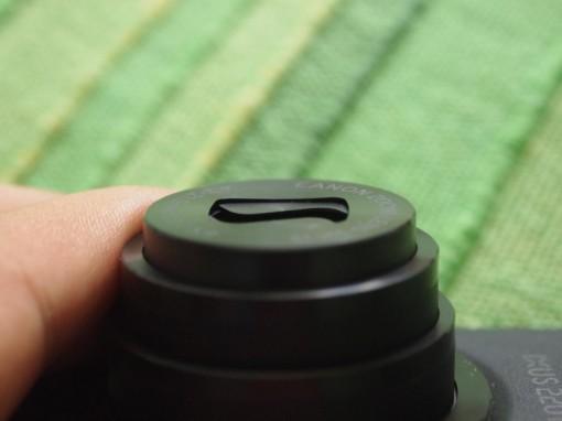 Canon IXUS 220 HS - Copriobiettivo bloccato - 3