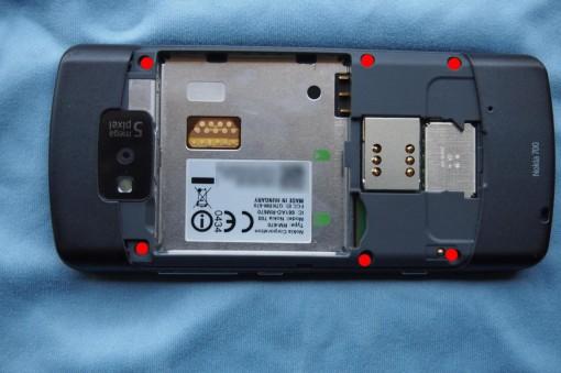 Nokia 700 - Smontare - 1