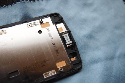 Nokia 700 - Smontare - Altoparlante voce