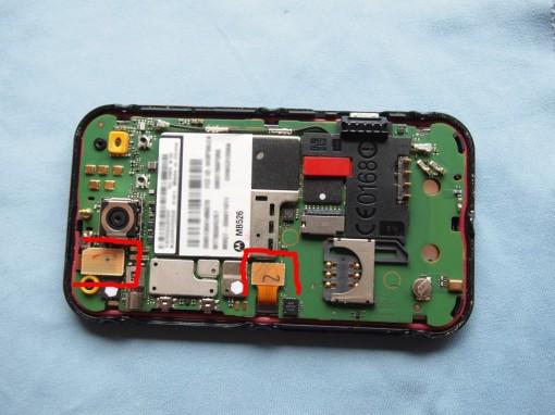 Motorola Defy Cavi Flat display e digitizer - 1