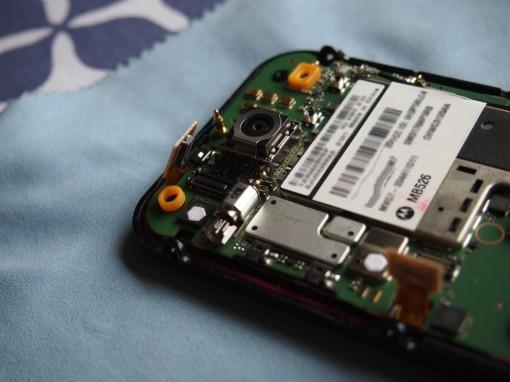 Motorola Defy cavo flat Digitizer e Display - 3