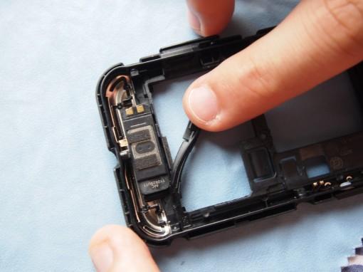 Motorola Defy - Altoparlante
