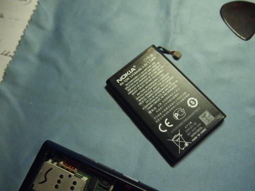 Nokia N9 - Smontare - 6 - Batteria