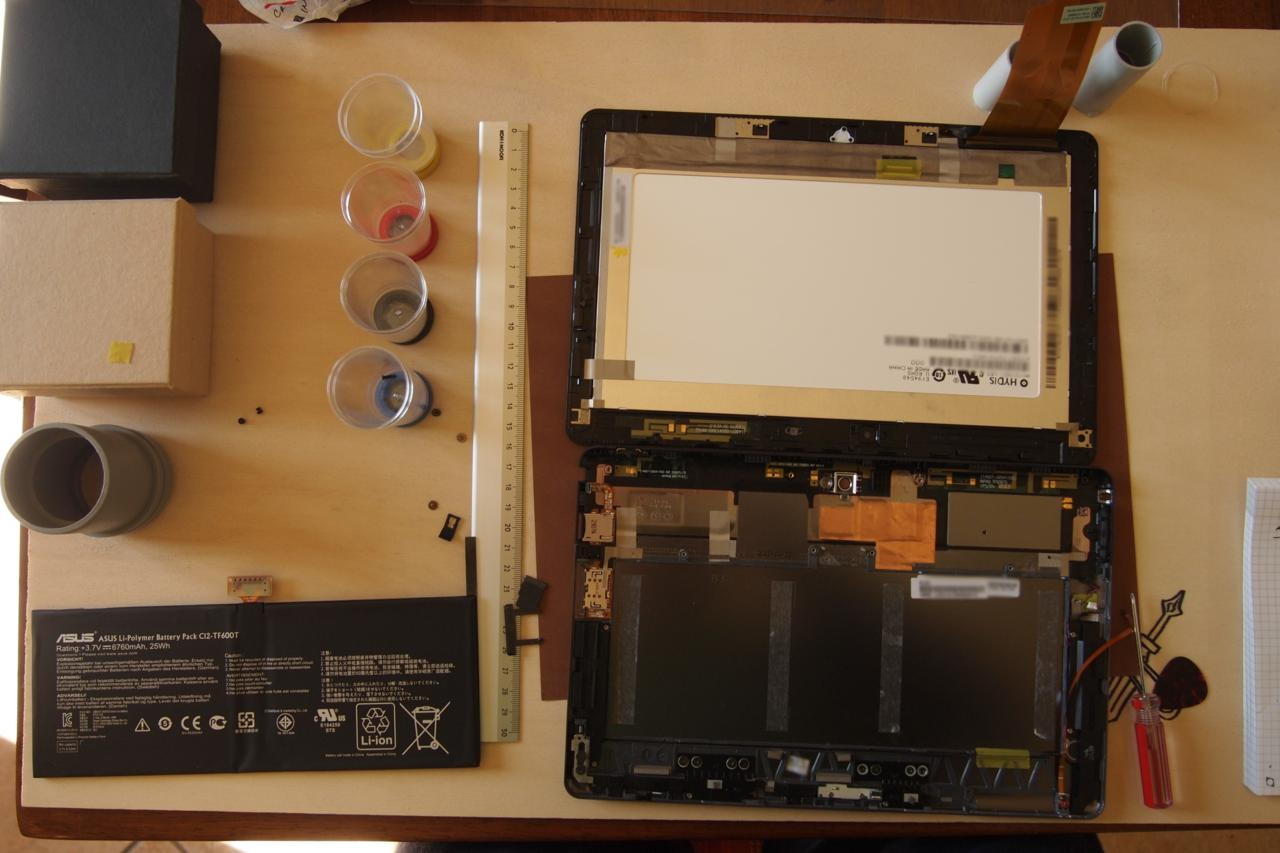 Asus Vivotab Rt Guide To Remove And Replace Display And