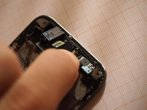 Samsung Galaxy S Plus - Sensore di prossimità e sensore di luminosità