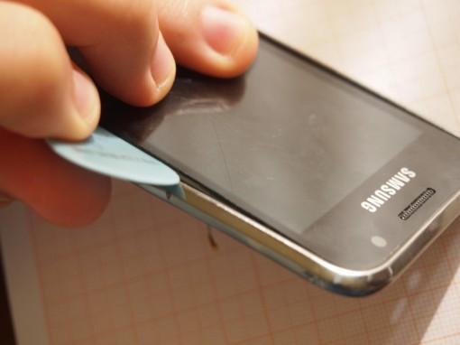 Samsung Galaxy S Plus - Rimozione Vetro - 1