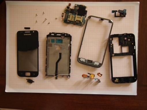 Samsung Galaxy S Plus - Componenti