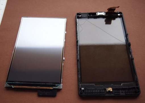 Display e Digitizer Vetro Touchscreen Nokia 820