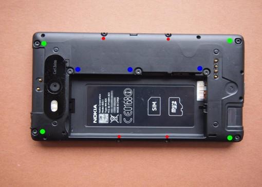 Nokia - 820 - 3 - Viti Torx