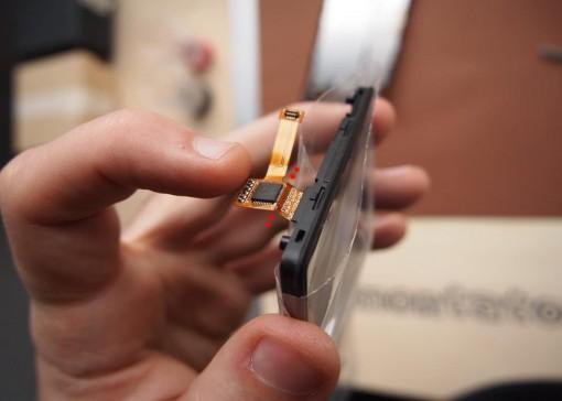 Cavo flat touchscreen delicato