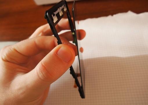 Ricambio digitizer adesivo debole