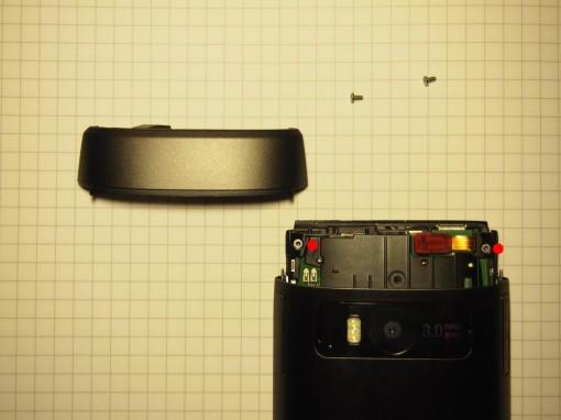 Nokia X7 - smontare - 1