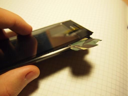 Nokia X7 - smontare - 6 - rimozione digitizer