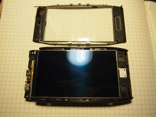 Nokia X7 - Digitizer e Display