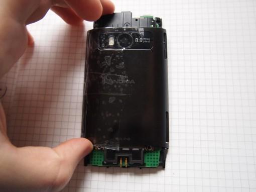 Nokia X7 - 10 - Rimuovere cover posteriore