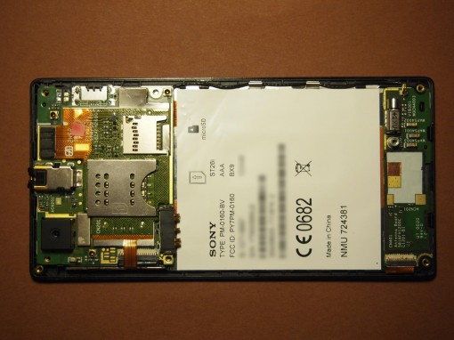 Sony Xperia J - 5 - Motherboard