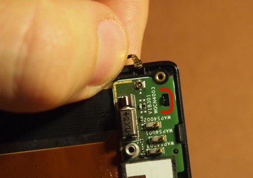 Sony Xperia J - 13 - Sub Board and Antenna