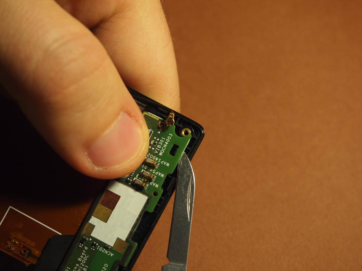 Sony Xperia J Remove And Replace Display Touchscreen The S Circuit Diagram 14 Sub Board Removing