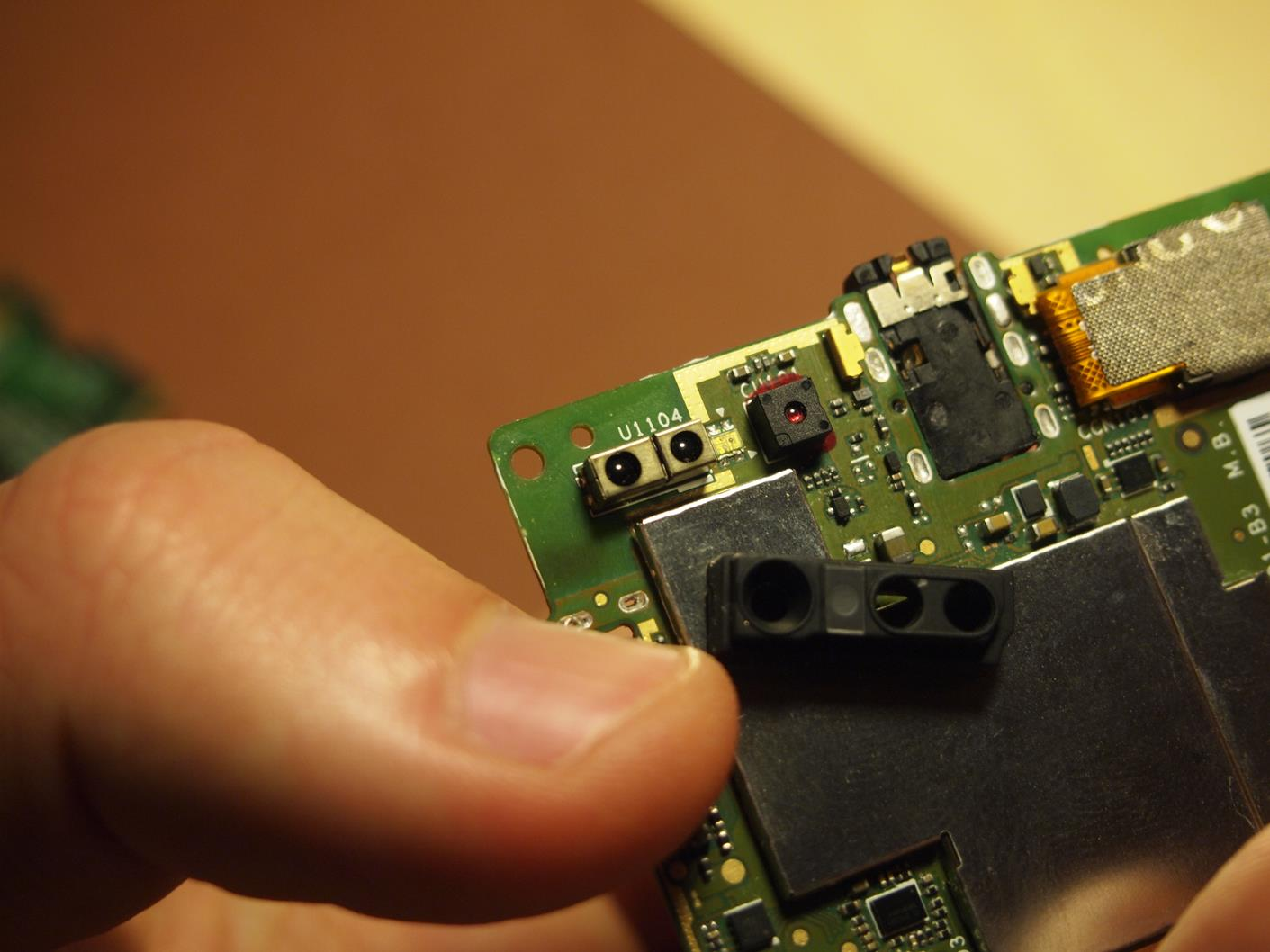 Sony Xperia J Remove And Replace Display Touchscreen The S Circuit Diagram 11 Proximity Sensor Ambient Light