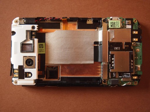 HTC Radar - Motherboard