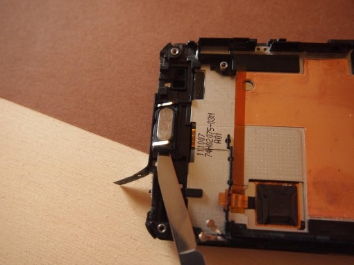 HTC Radar - 16 - Speaker