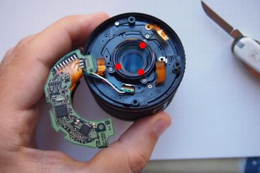 Olympus Zuiko - rear lens