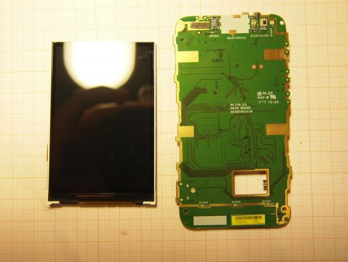 Sony Xperia Tipo Dual - 21 - Display e Scheda Madre