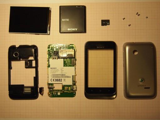 Sony Xperia Tipo Dual - Componenti - Finale
