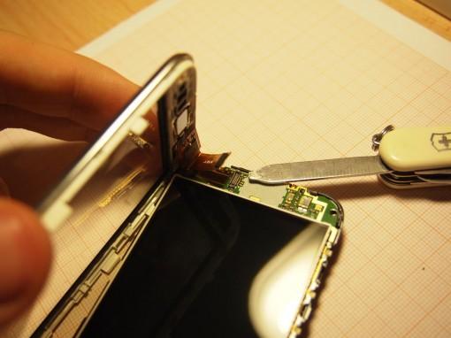 Sony Xperia Tipo Dual - 9 - Digitizer rimozione